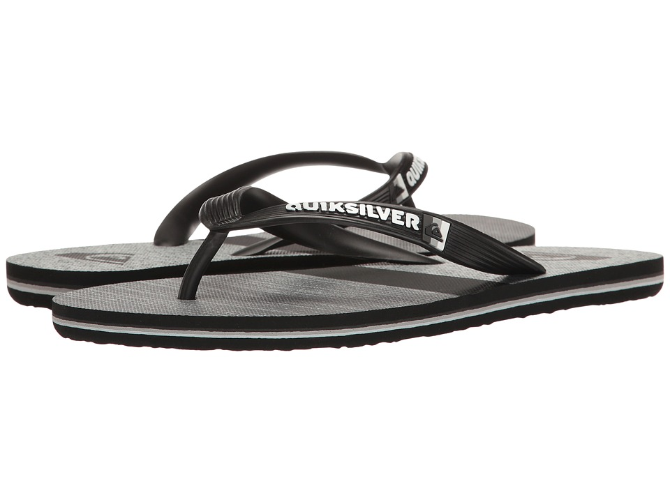 Quiksilver - Molokai Everyday Blocked (Black/Grey/Black 2) Men's Sandals