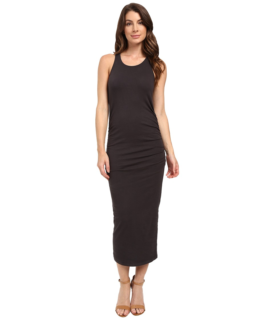 Michael Stars Racerback Dress w/ Shirring (Oxide) Women