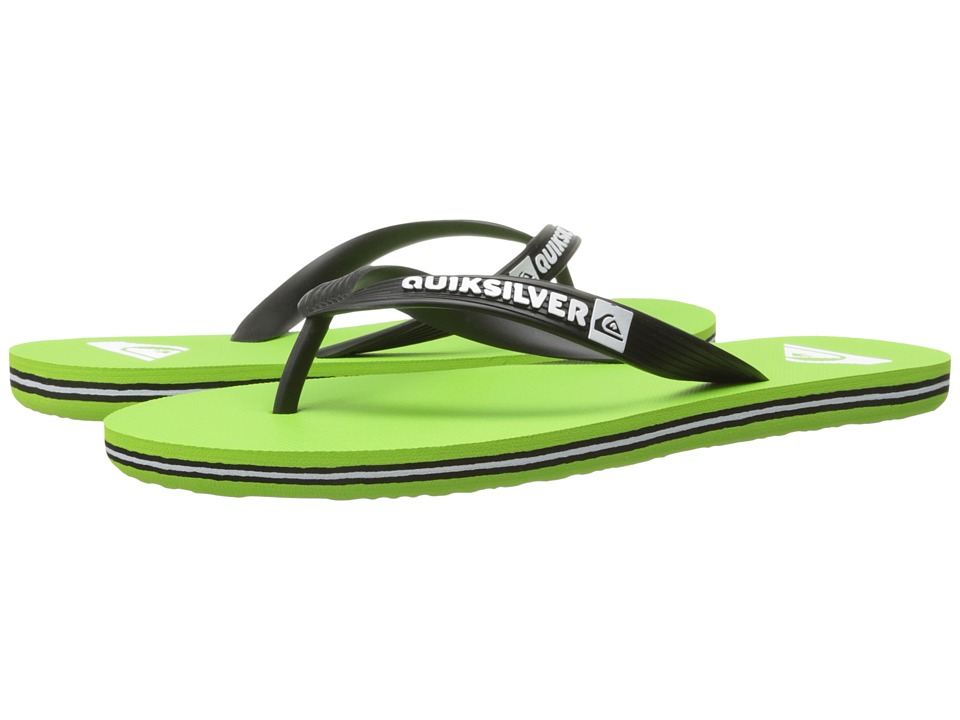 Quiksilver - Molokai (Green/White/Black) Men's Sandals