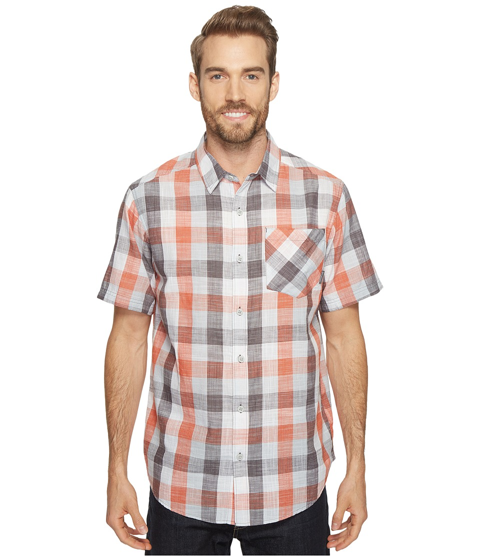 Columbia - Katchortm II S/S Shirt (Shark Check) Men's Clothing