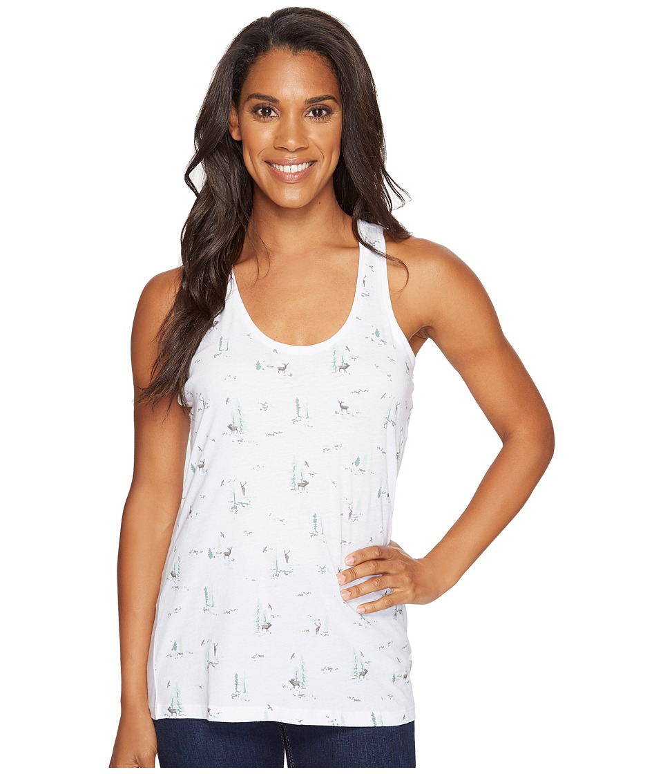Columbia Down the Path Tank Top (White) Women