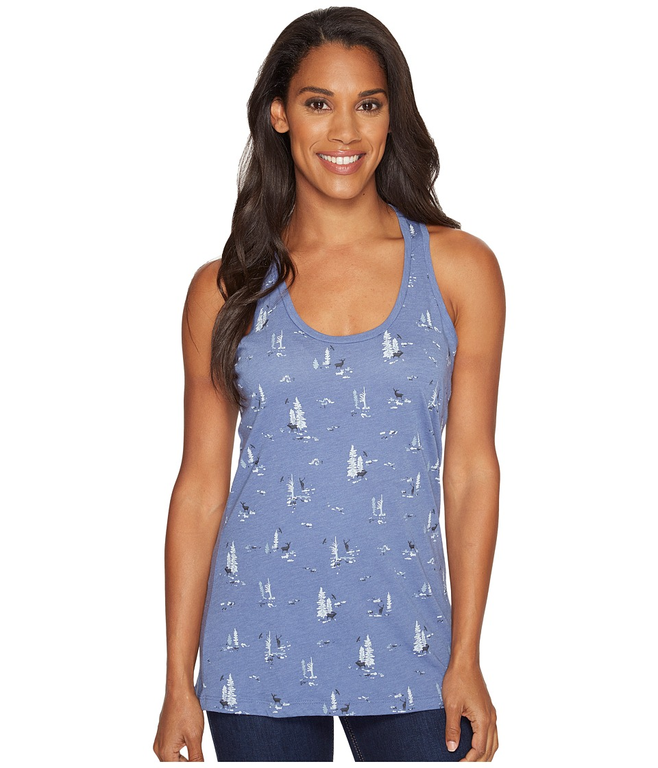 Columbia Down the Path Tank Top (Bluebell) Women