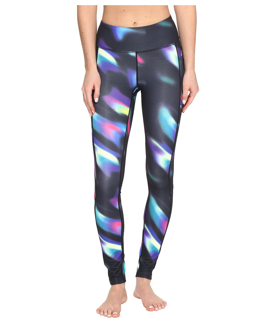 ASICS Interval Tights (Sea Wave Black) Women