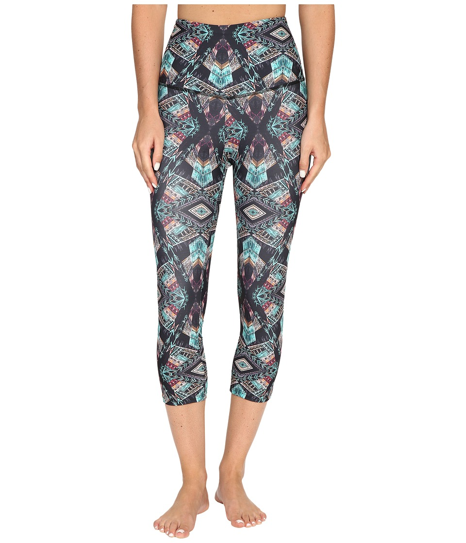 Onzie - Chief High-Rise Capris (Chief) Women's Capri