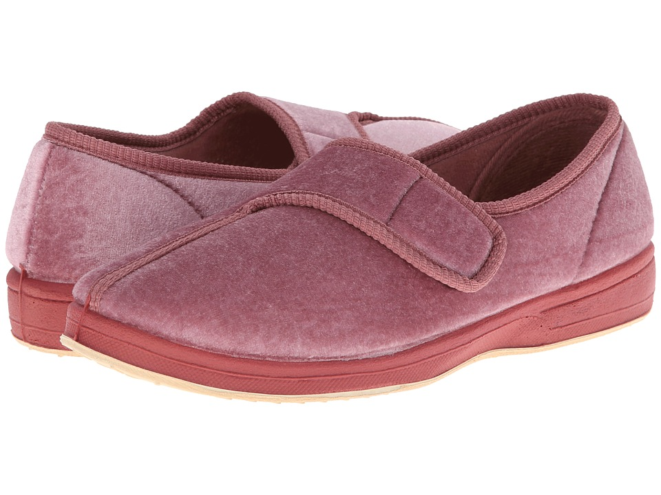 Foamtreads - Jewel (Dusty Rose Velour) Women