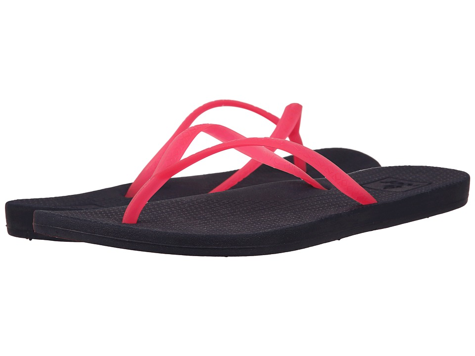 Reef - Escape Lux (Charcoal/Pink) Women's Sandals