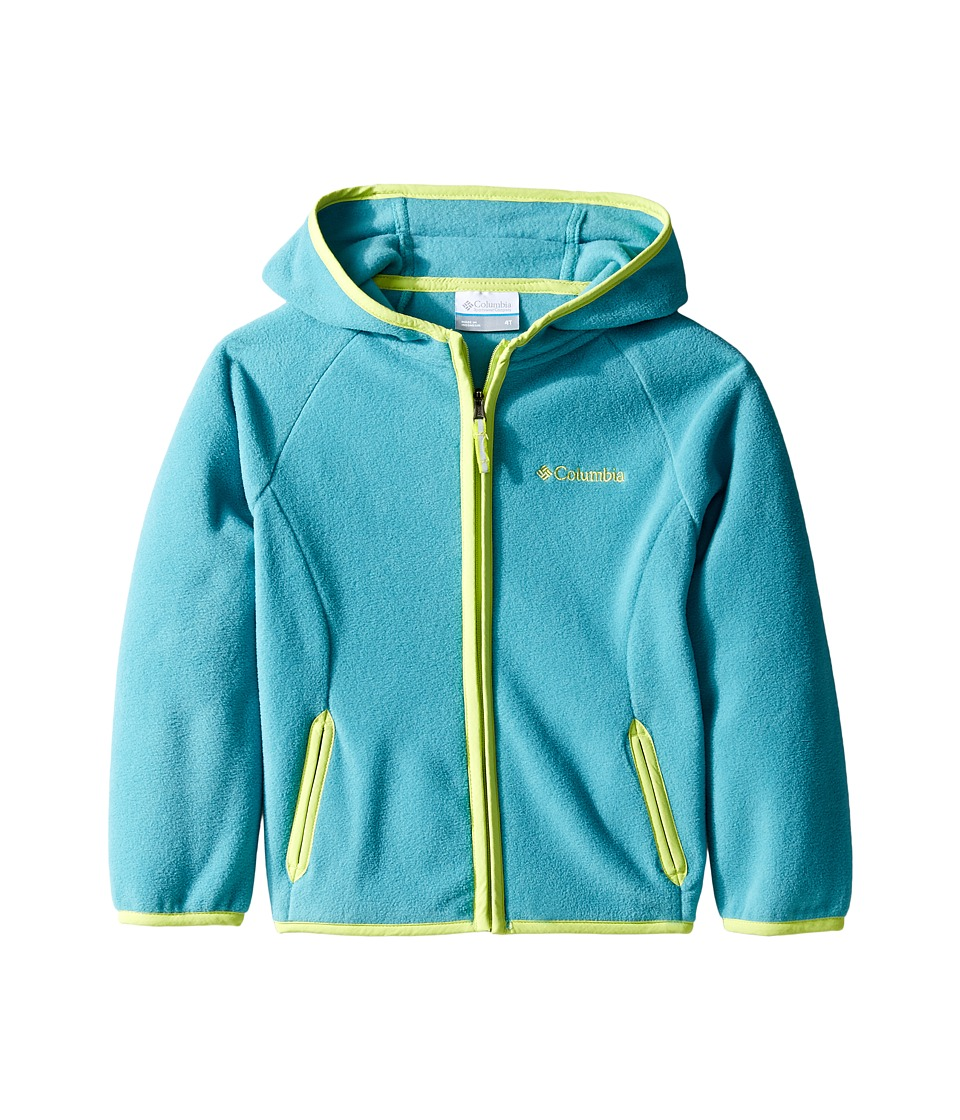 Columbia Kids - Fast Trektm Hoodie (Infant/Toddler) (Teal/Voltage) Kid's Sweatshirt