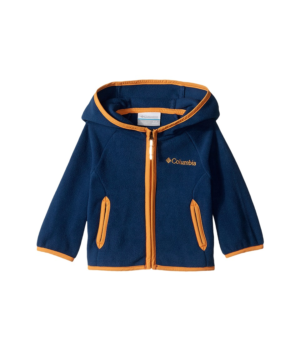 Columbia Kids - Fast Trektm Hoodie (Infant) (Carbon/Koi) Girl's Sweatshirt