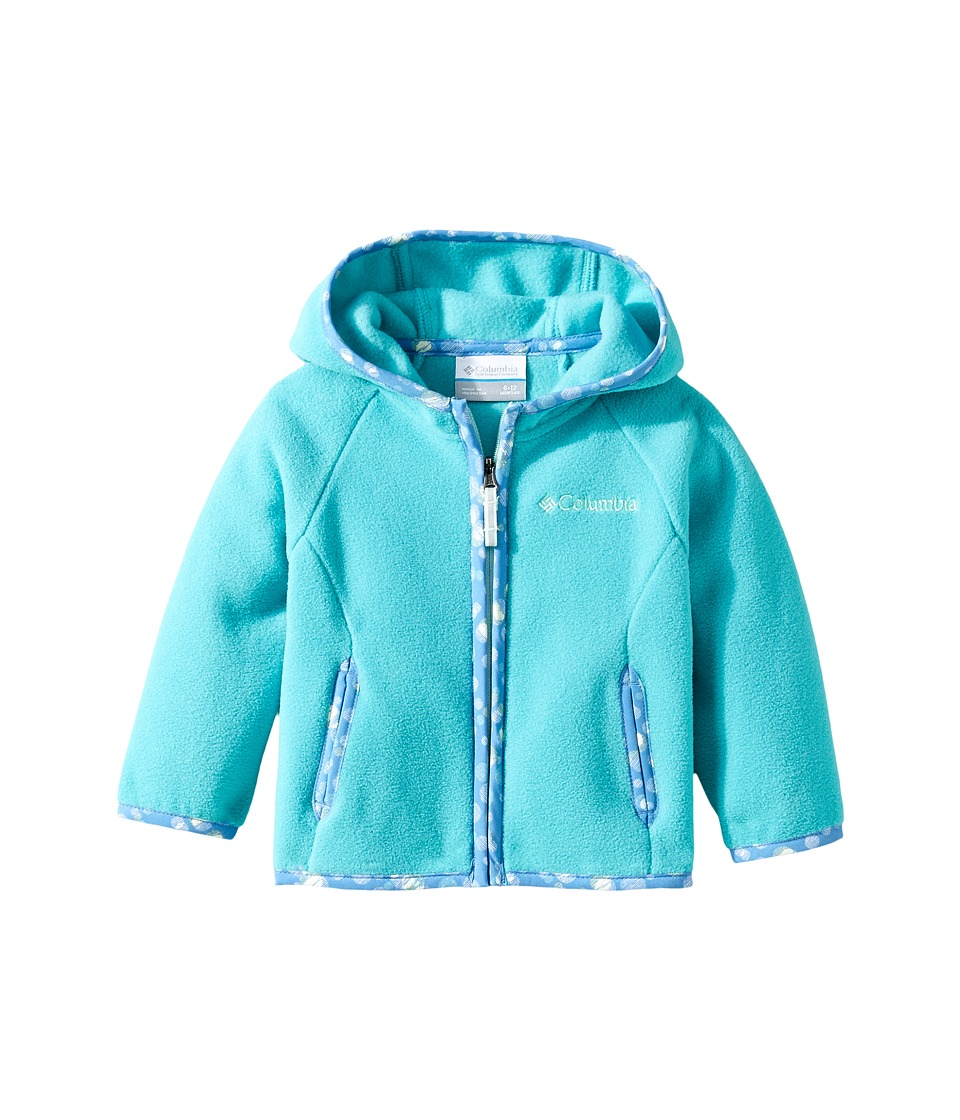 Columbia Kids - Fast Trektm Hoodie (Infant) (Miami 1) Girl's Sweatshirt