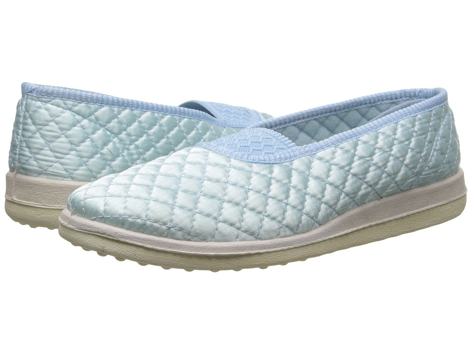Foamtreads - Waltz (Blue Satin) Women's Slippers