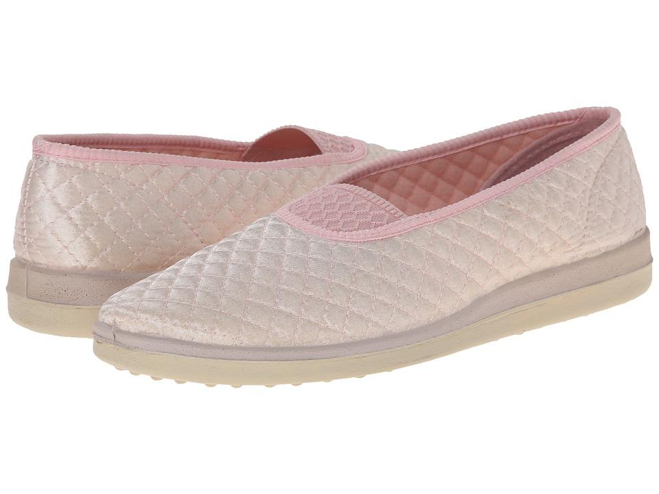 Foamtreads - Waltz (Pink Satin) Women's Slippers