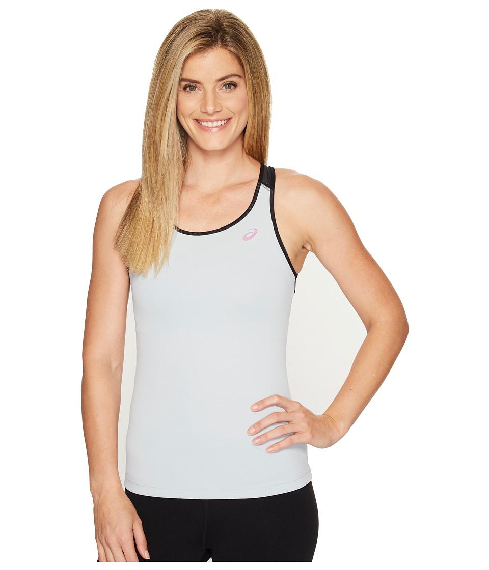 ASICS - Open Back Tank Top (Mid Grey) Women's Sleeveless