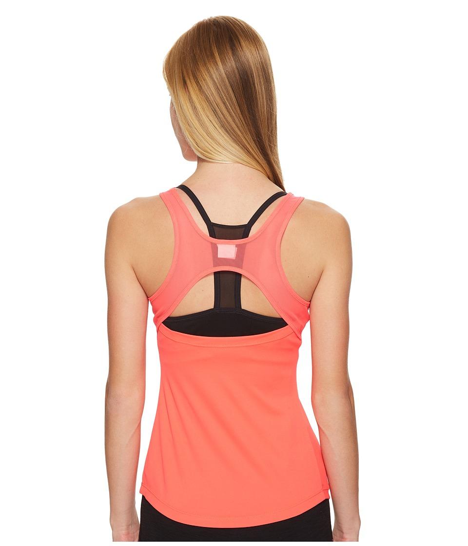 ASICS - Open Back Tank Top (Diva Pink) Women's Sleeveless