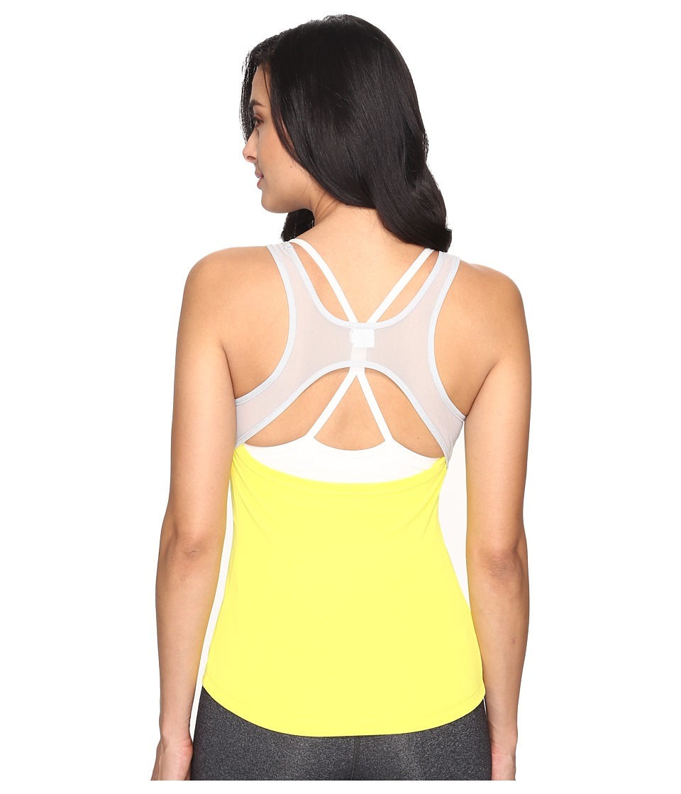 ASICS - Open Back Tank Top (Blazing Yellow) Women's Sleeveless