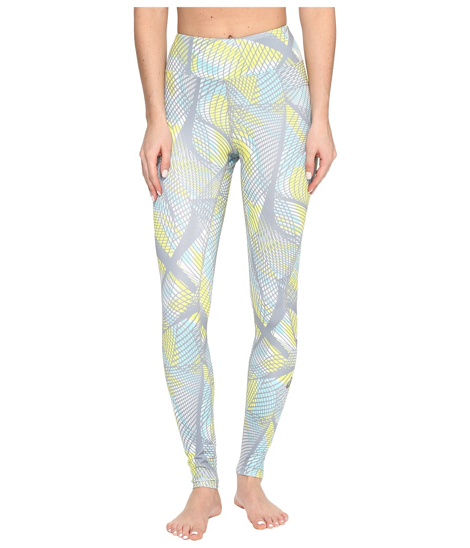 ASICS - Long Tights (Sea Light Print) Women's Workout