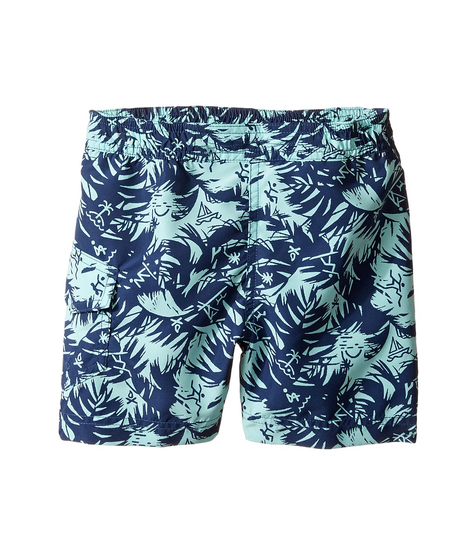 Columbia Kids - Solar Streamtm II Boardshort (Toddler) (Gulf Stream Icons) Boy's Swimwear