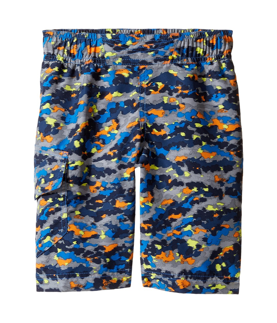 Columbia Kids - Solar Streamtm II Boardshort (Toddler) (Super Blue Camo) Boy's Swimwear