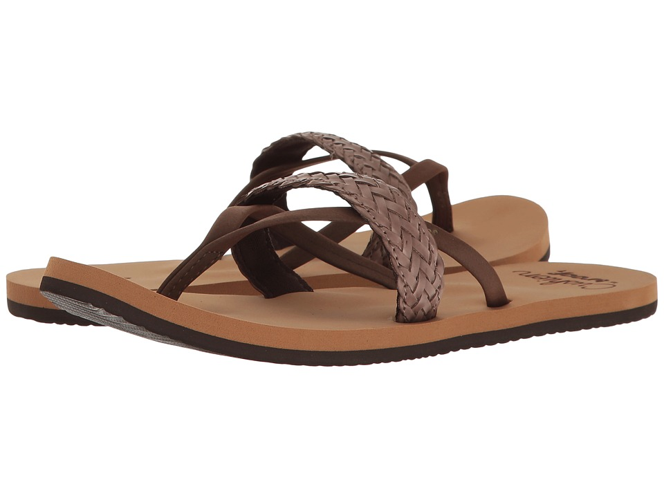 Reef - Cushion Wild (Brown) Women's Sandals