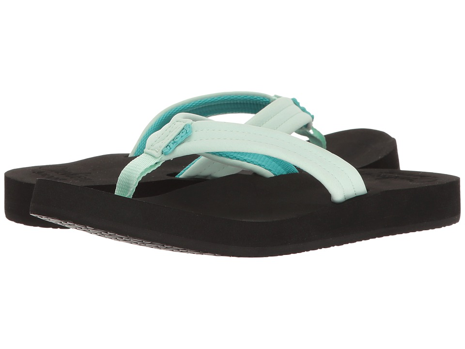 Reef - Cushion Breeze (Black/Mint) Women's Sandals