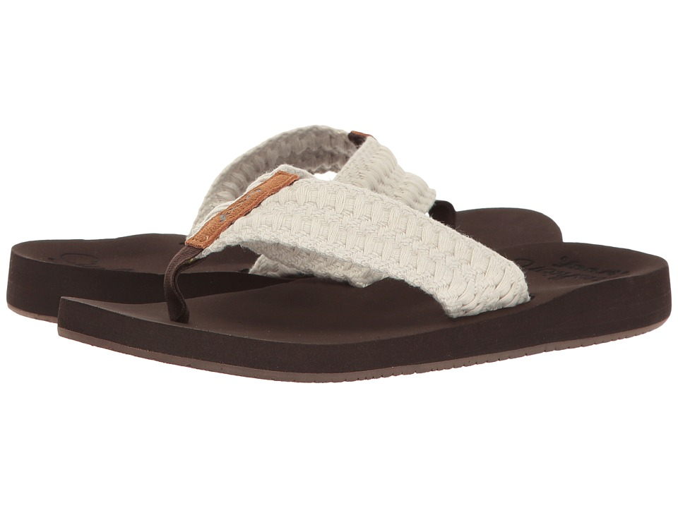 Reef - Cushion Threads (Vintage White) Women's Sandals