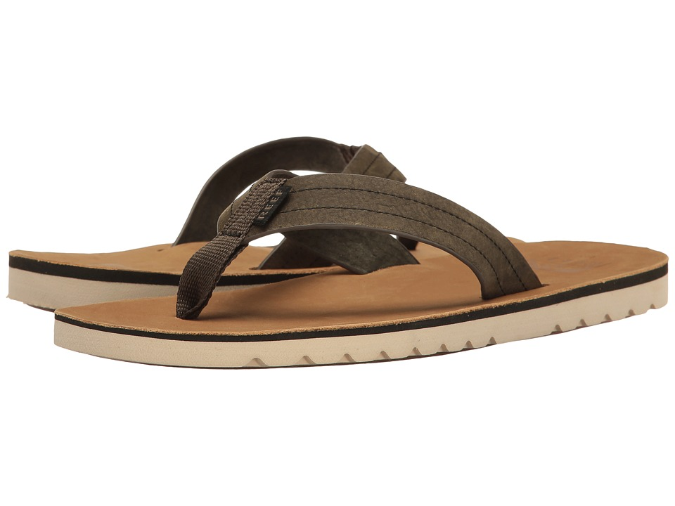 Reef Voyage LE (Tan/Olive) Men