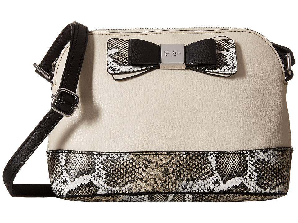 Jessica Simpson - Evette Crossbody (Putty/Beige White Python) Cross Body Handbags