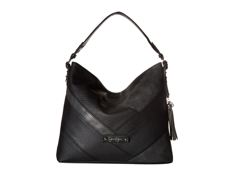 Jessica Simpson - Helena Hobo (Black) Hobo Handbags