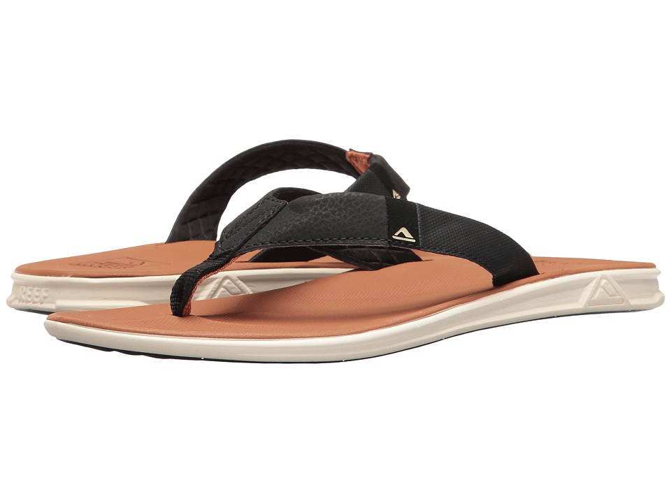 Reef - Slammed Rover (Red/Black) Men's Sandals