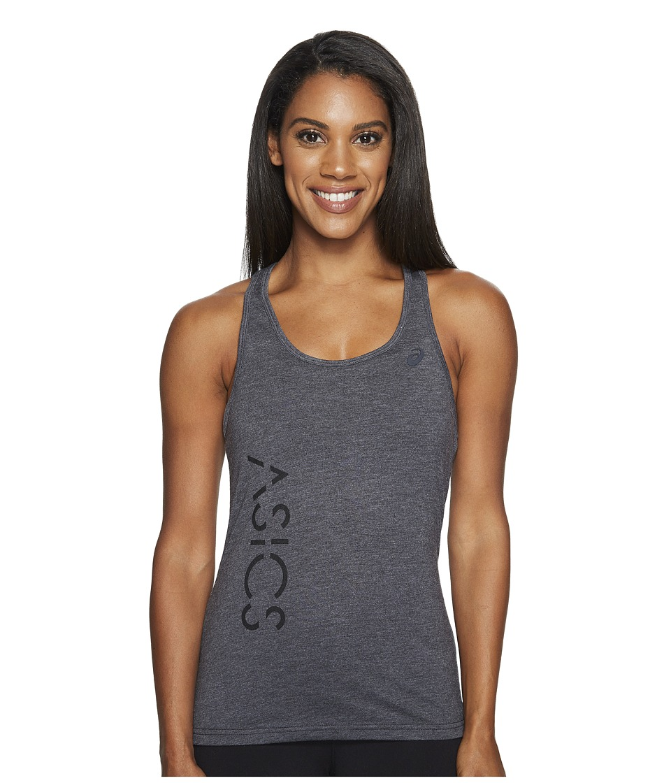 ASICS - Graphic Tank Top (Performance Black) Women's Sleeveless