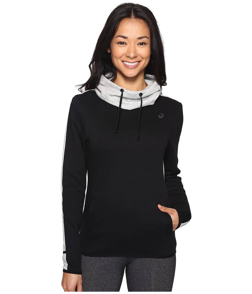 ASICS - Pullover Hoodie (Balance Black) Women's Sweatshirt