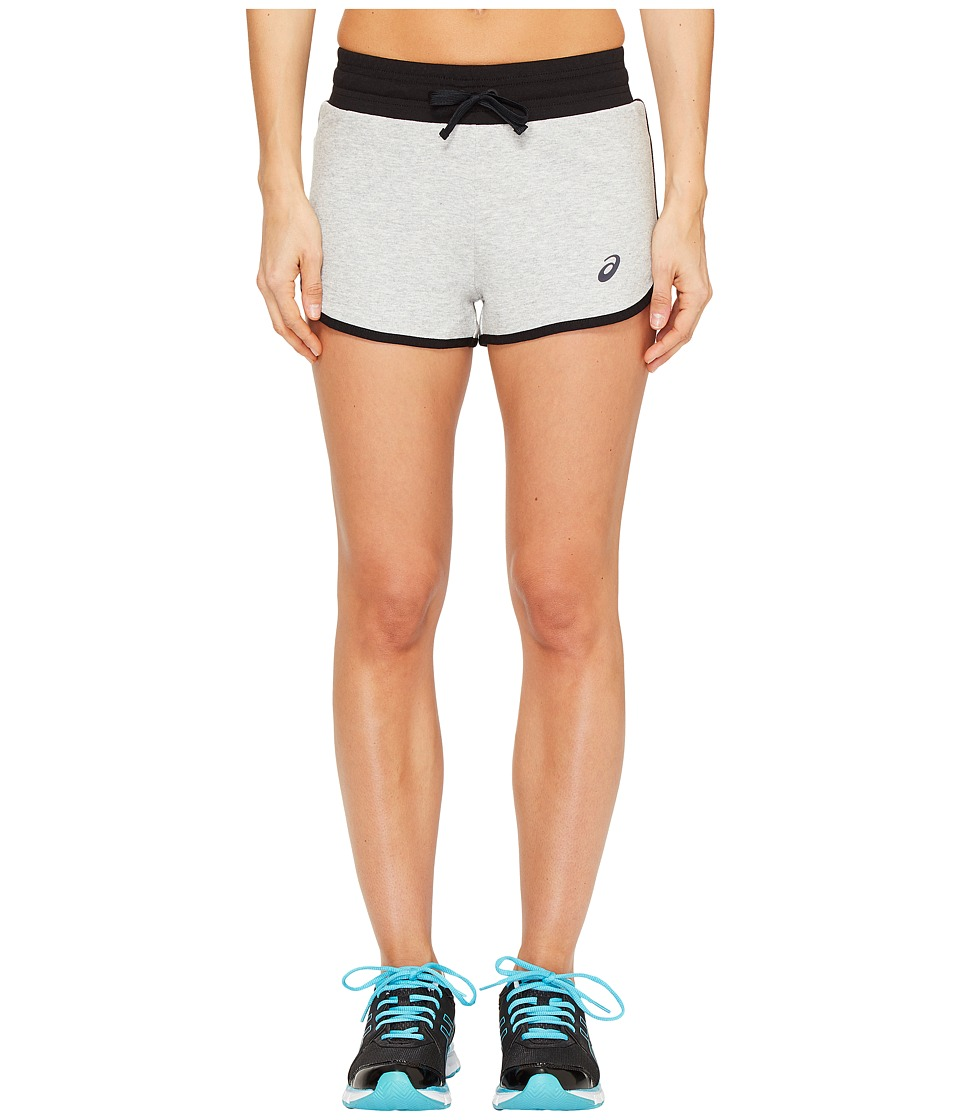 ASICS - Knit Shorts (Light Grey Heather) Women's Shorts