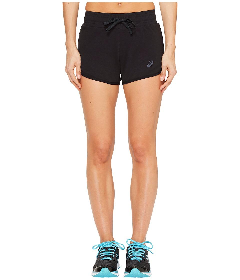 ASICS - Knit Shorts (Performance Black) Women's Shorts