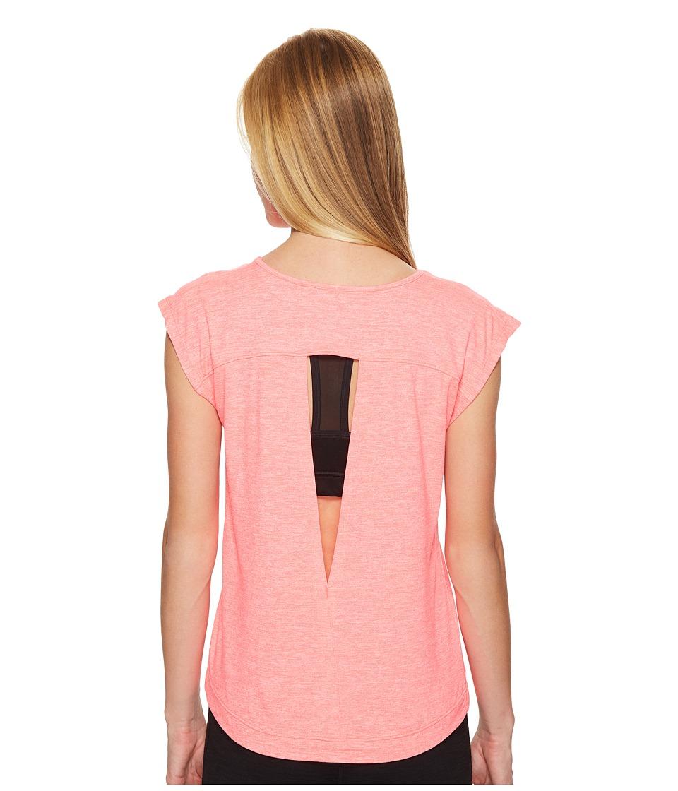 ASICS - ASX Lux Short Sleeve Top (Diva Pink) Women's T Shirt