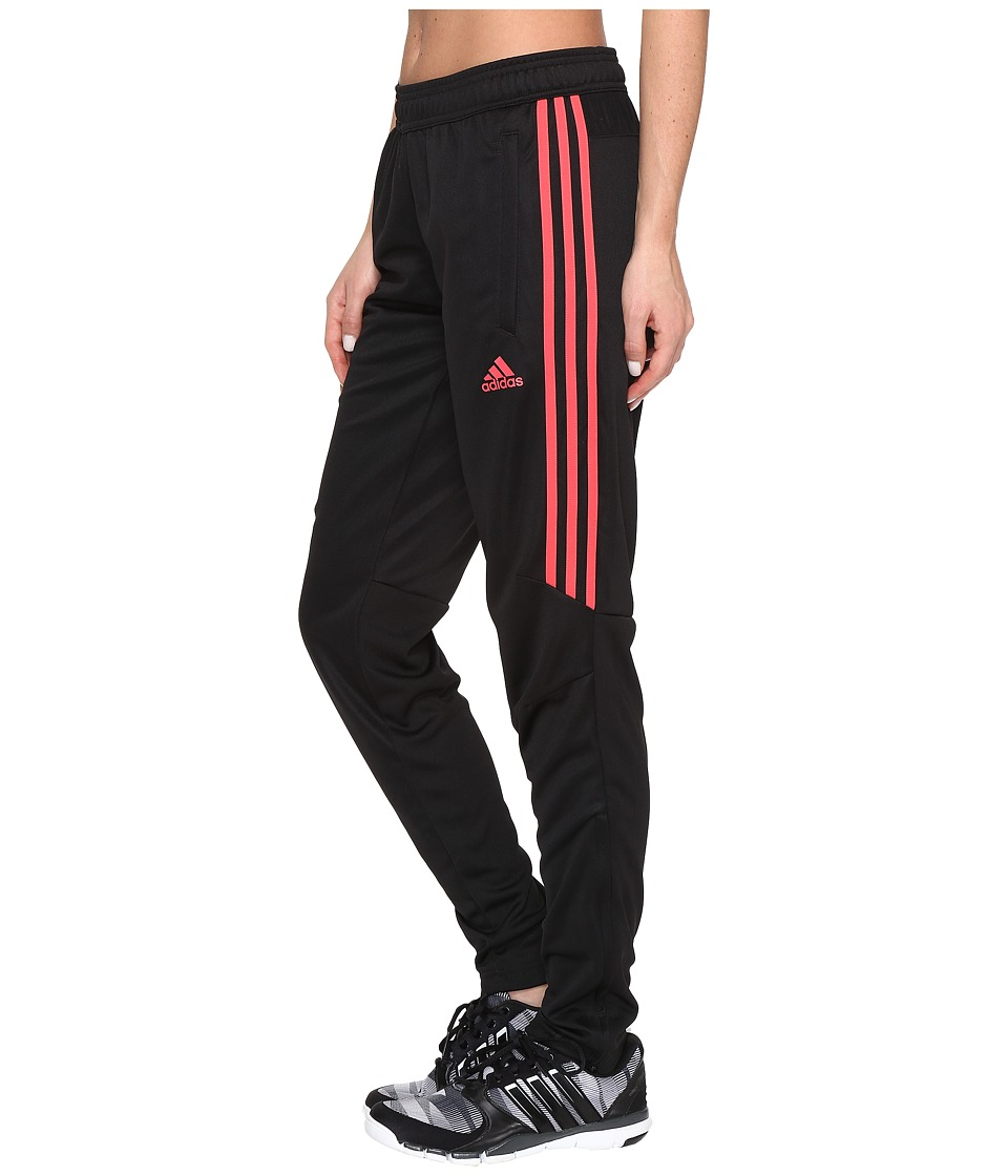 adidas - Tiro '17 Pants (Black/Core Pink) Women's Workout