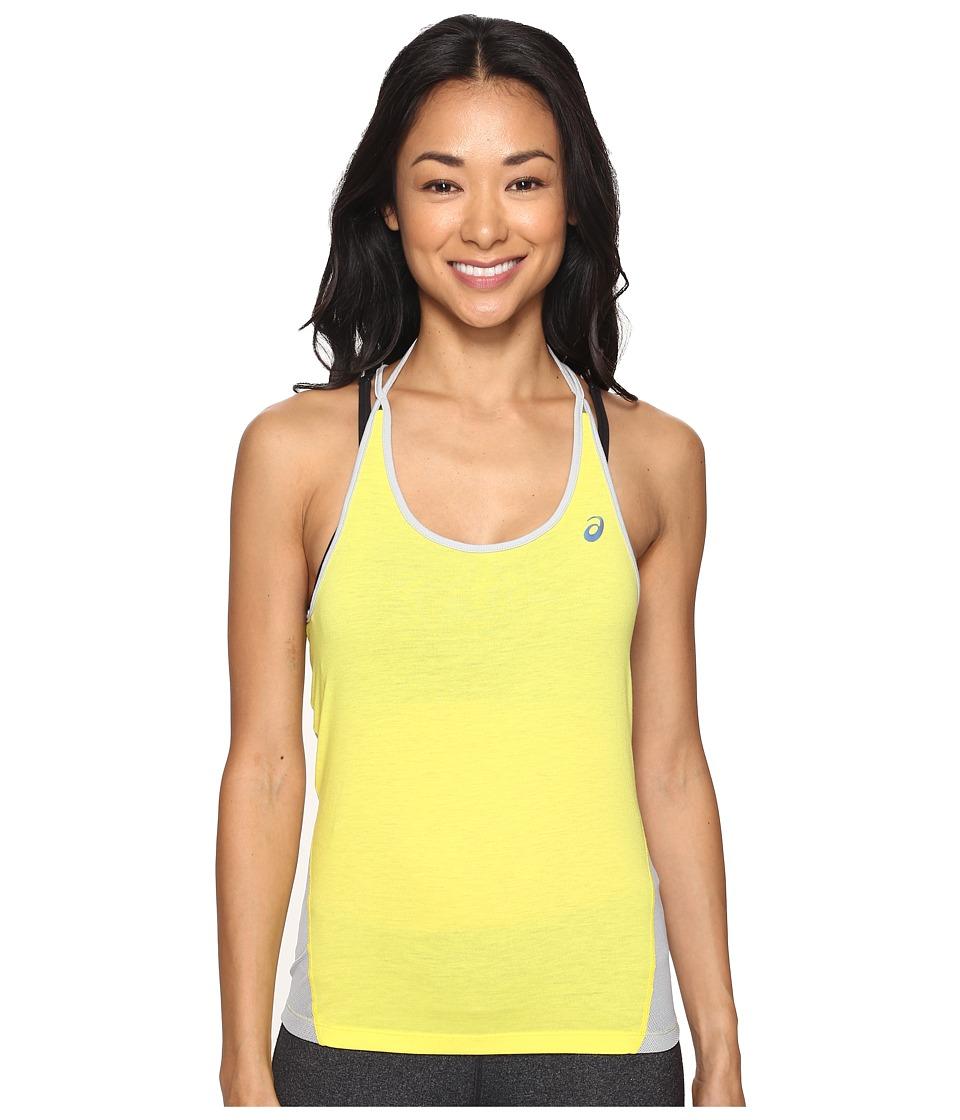ASICS - Layering Tank Top (Blazing Yellow) Women's Sleeveless