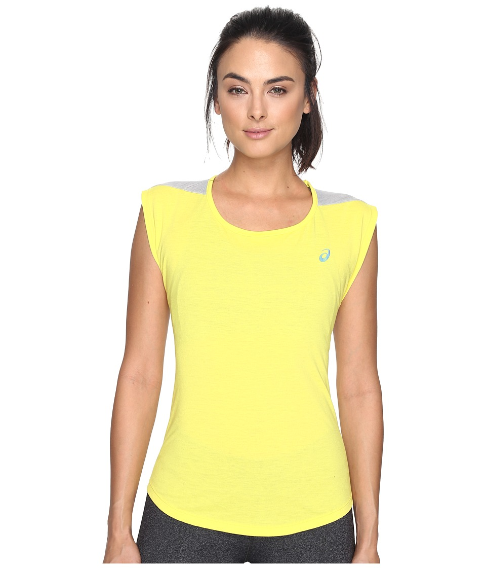 ASICS Novel-Tee (Blazing Yellow) Women