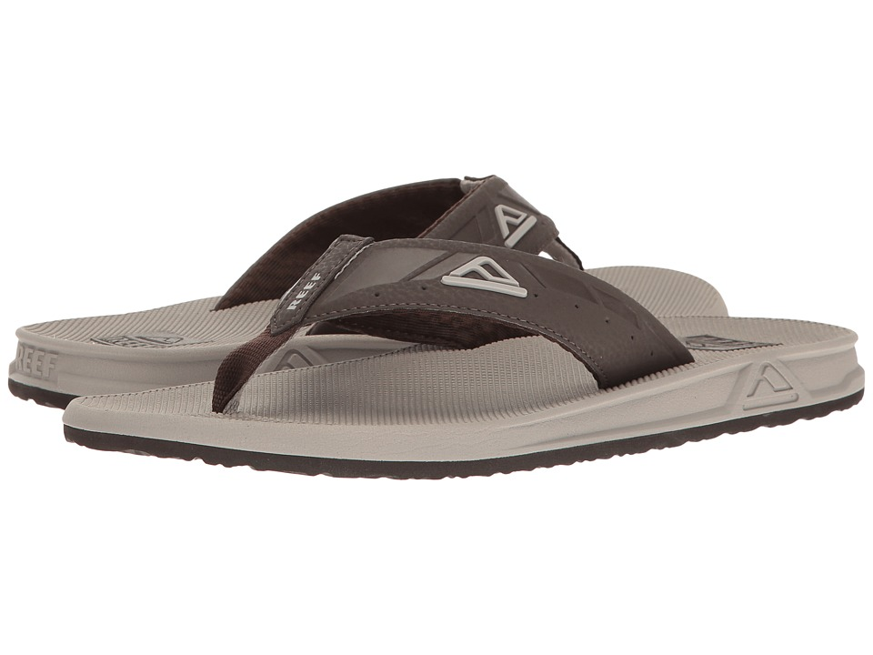 Reef - Phantoms (Light Grey/Brown) Men's Sandals