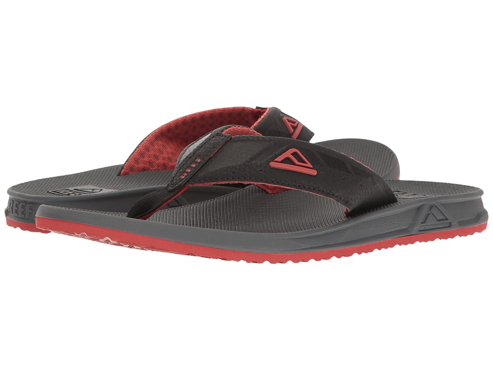 Reef - Phantoms (Charcoal/Red) Men's Sandals