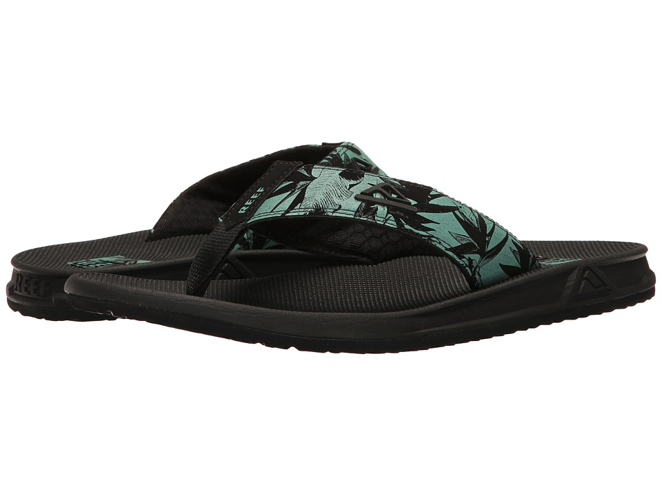 Reef - Phantom Prints (Green Botanical) Men's Sandals