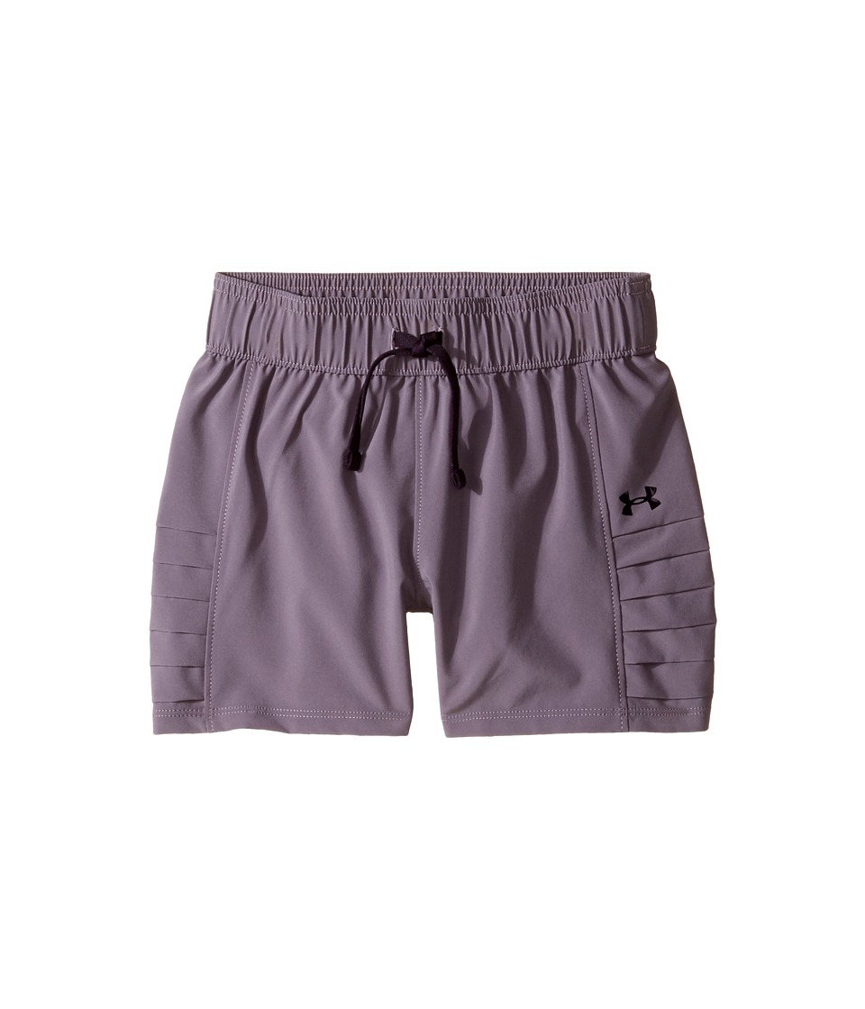 Under Armour Kids - Woven Shorts (Big Kids) (Flint/Imperial Purple) Girl's Shorts