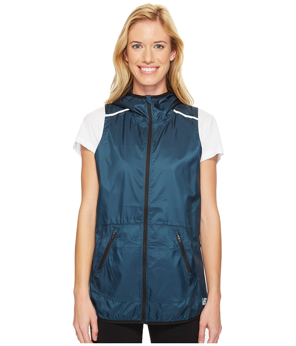New Balance - Windcheater Vest (Super Cell) Women's Vest