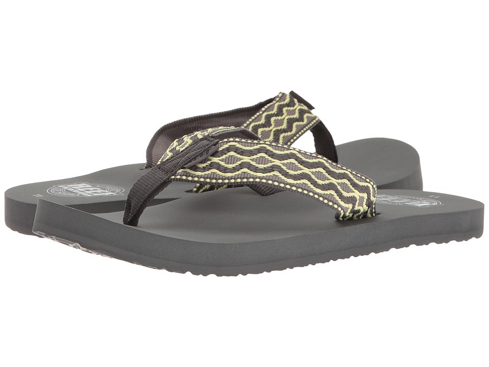 Reef - Smoothy (Grey/Yellow) Men's Sandals