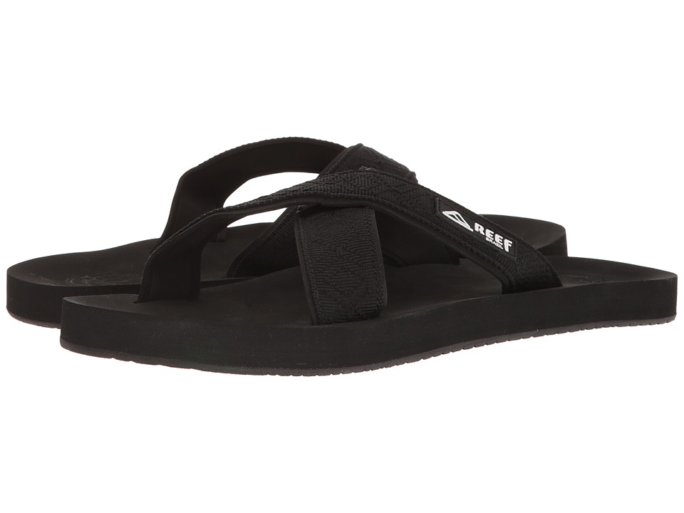 Reef - Crossover (Black) Men's Sandals