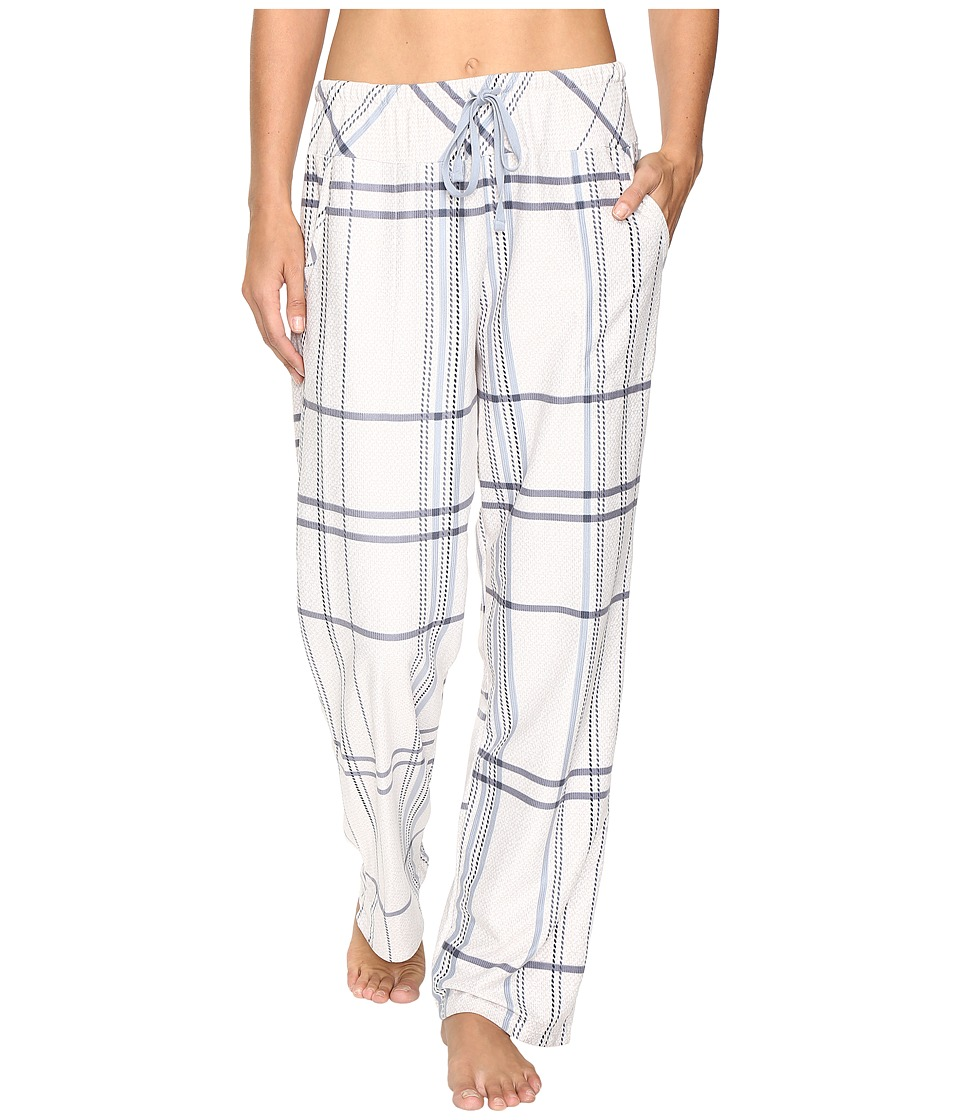 DKNY - Bedford Lounge Pants (Vellum Plaid) Women's Pajama