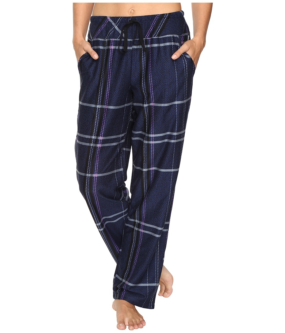 DKNY - Bedford Lounge Pants (Peacoat Plaid) Women's Pajama