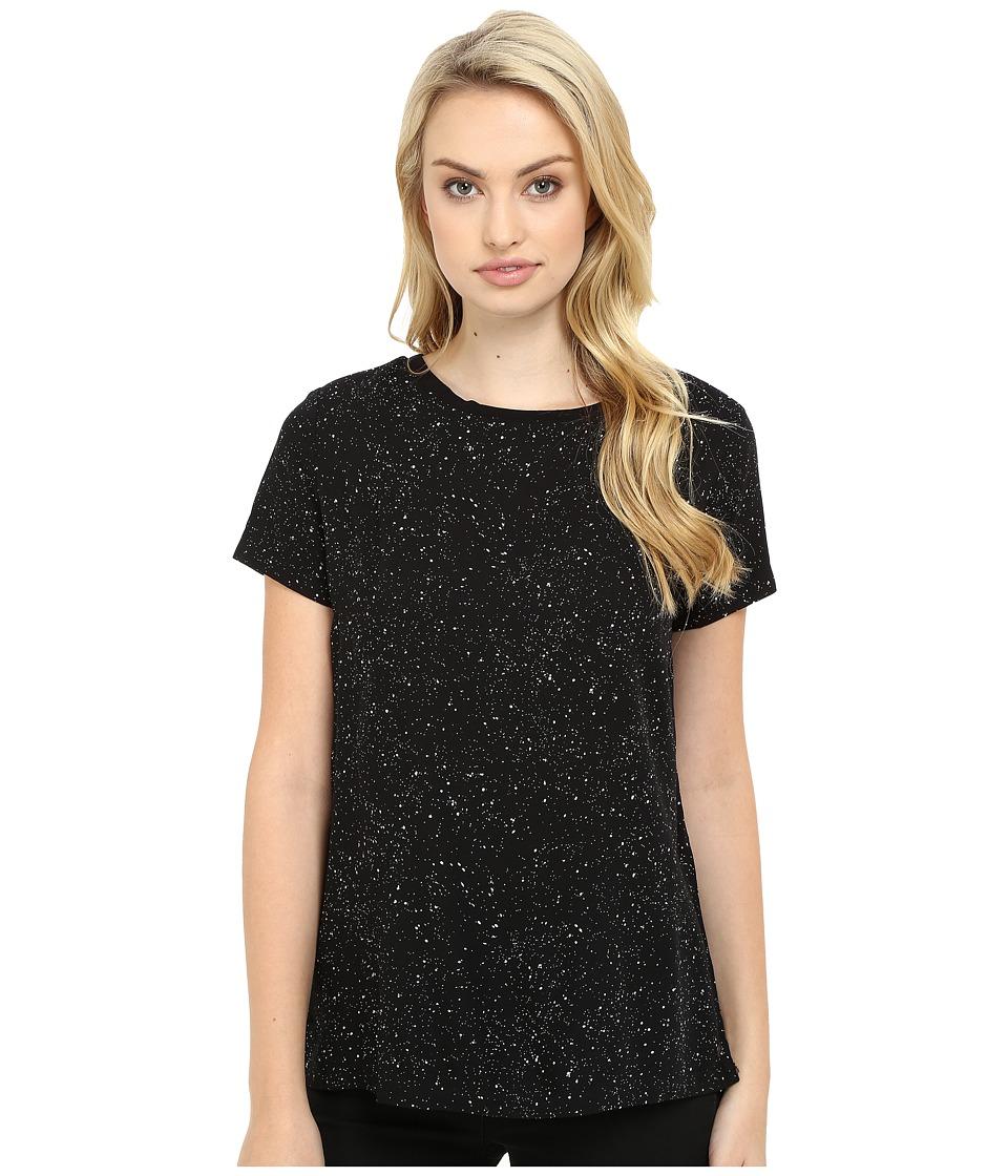 Bench - Artistry Short Sleeve Tee Shirt (Jet Black) Women's T Shirt