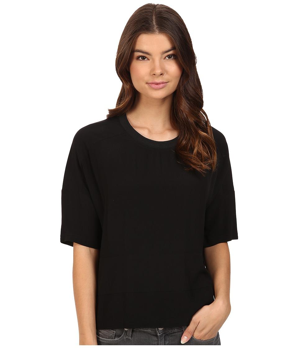 Bench - Pictograph Relaxed Tee Shirt (Jet Black) Women's T Shirt