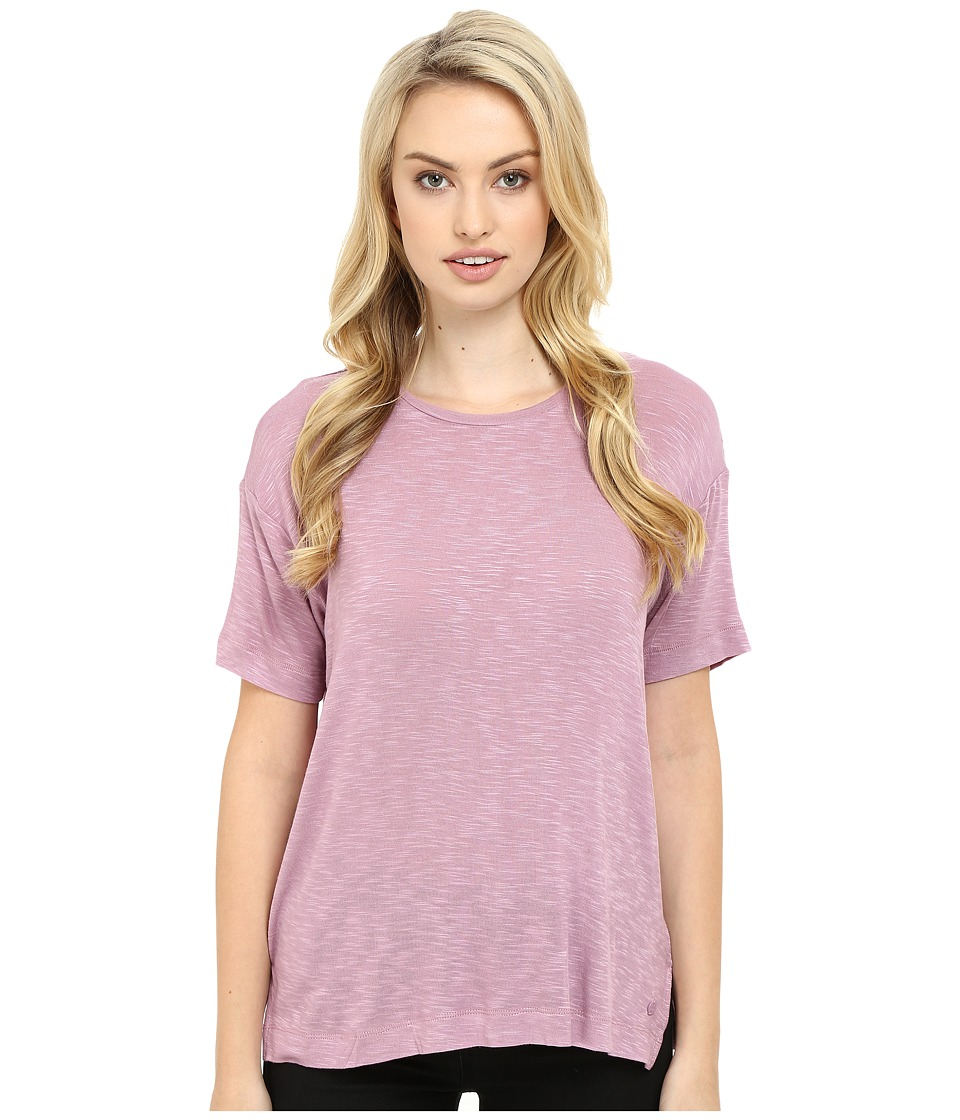 Bench - Savage Short Sleeve Tee Shirt (Orchid Haze) Women's T Shirt plus size,  plus size fashion plus size appare