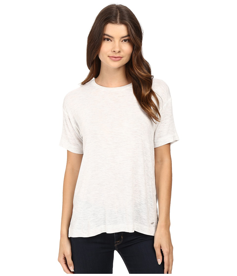 Bench - Savage Short Sleeve Tee Shirt (Pale Grey Marl) Women's T Shirt