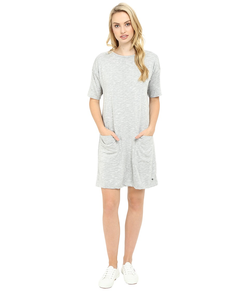 Bench - Expertism Relaxed Dress (Grey Marl) Women's Dress